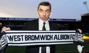 West Brom Mr. Bean